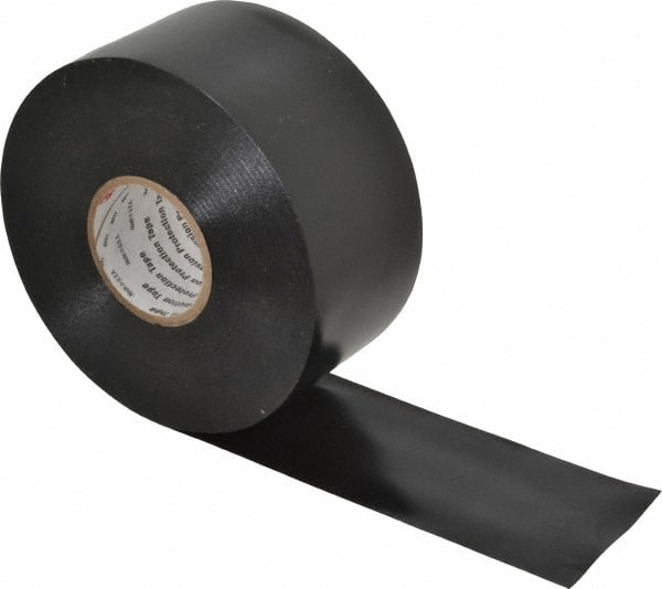 "3M 2/"" x 10/' 500 V//mi... Black Rubber Electrical Tape Series 2228 65 mil Thick"