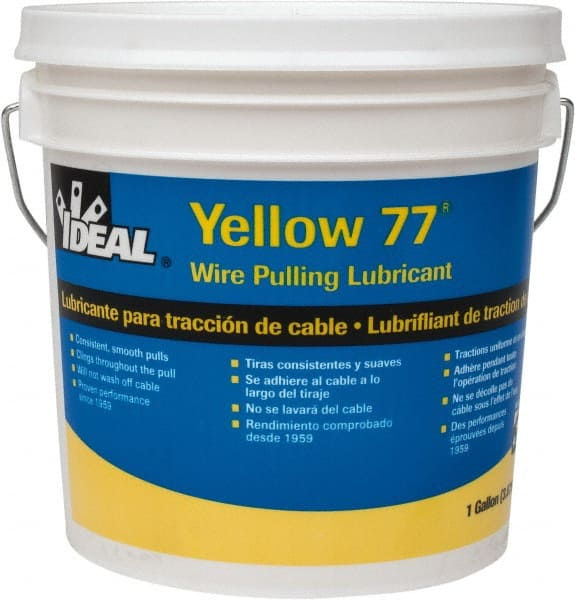 1 Gallon Pail, Yellow Wire Pulling Lubricant 54043146 - MSC