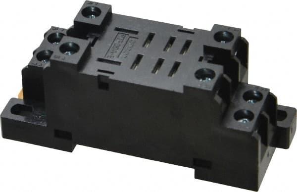 10 A Relay Socket 240 V 11 Pins Screw DIN Rail