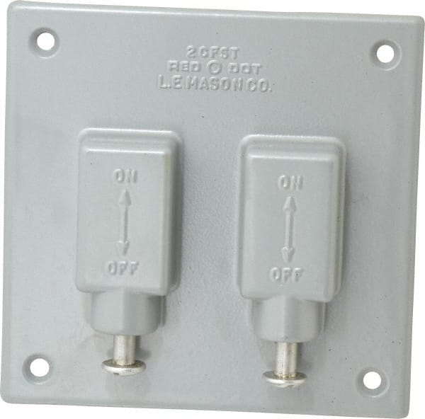 Electrical Outlet and Switch Box Aluminum 54119938 - MSC