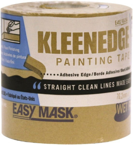 """Easy Mask Painting Tape 3 /"""" X 180 /' Brown"""