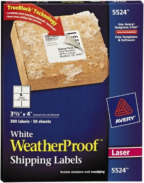 white shipping labels 54655444 msc