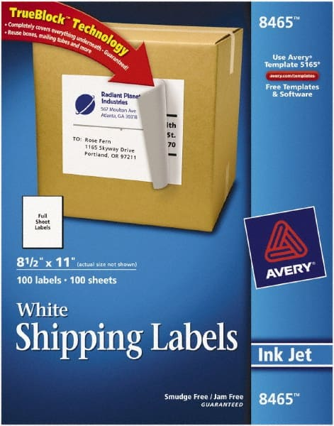 11 shipping labels paper white 54655485 msc