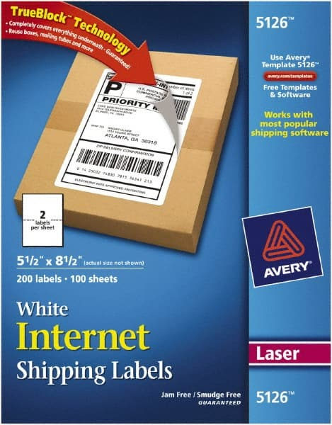 avery white shipping labels mscdirect com