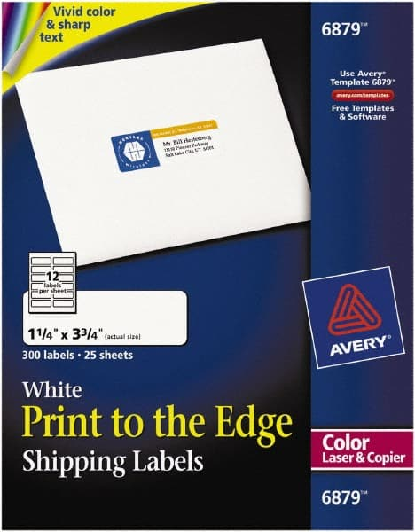 White Shipping Labels 54655675