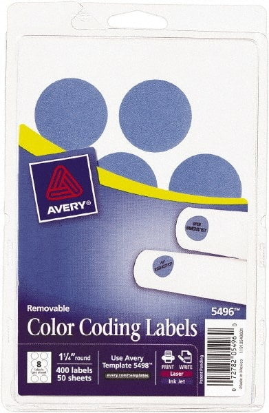 Avery Color Coding Labels | MSCDirect com