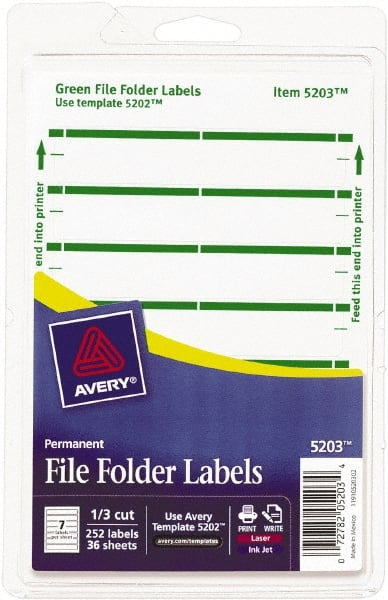 Avery White Laser Printers Label Mscdirect