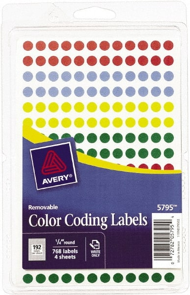 1/4 Inch Labels | MSCDirect com