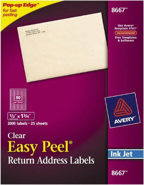 1 2 wide x 1 3 4 long clear paper 54710397 msc