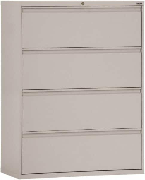 gray filing cabinet | mscdirect 30 inch high file cabinet