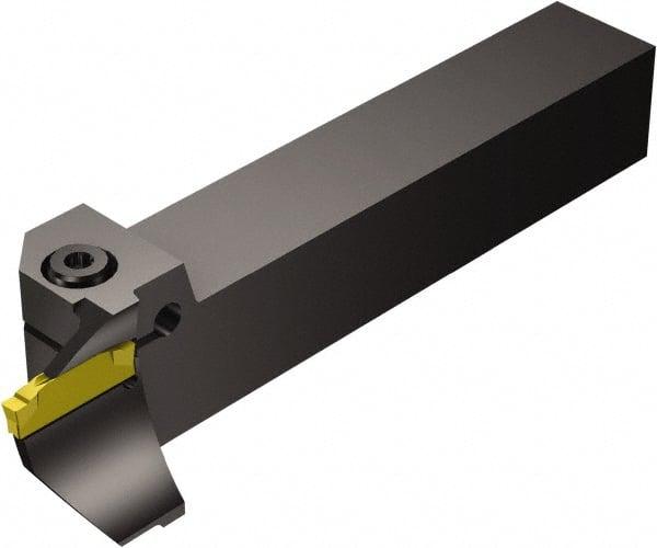 125mm Length x 7mm Width Pack of 1 Screw Clamp Right Hand 1 Insert Size Internal 10mm Shank Diameter Steel 1.5 Round Shank Sandvik Coromant A10K-STFPR 09-R Turning Insert Holder TPMT 1.8
