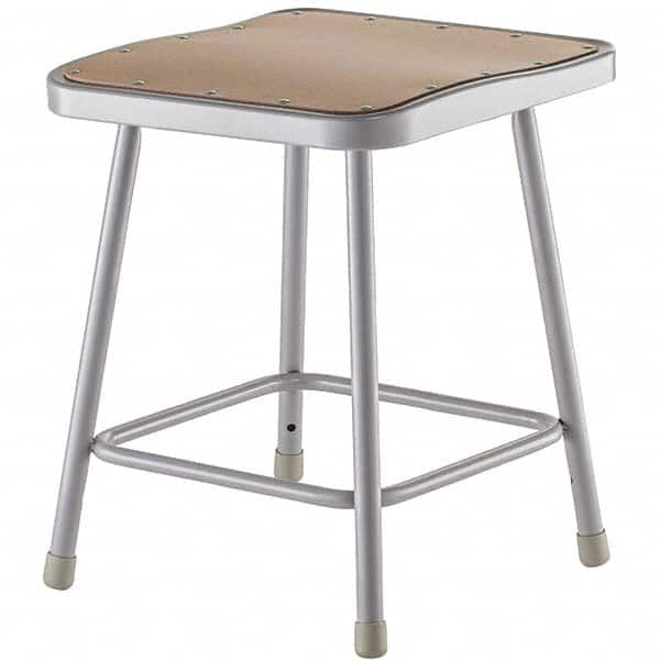 18 Inch High Stationary Fixed Height Stool 55054852 Msc