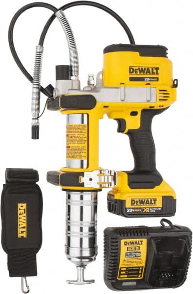Electric Grease Gun >> Dewalt 10 000 Max Psi Flexible Battery Operated Grease