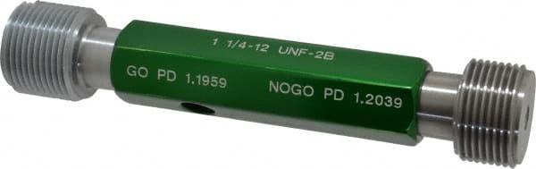 Class 2B SPI 7//16-14 Size 2 Han... Double End Plug Thread Go//No Go Gage Steel