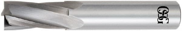 OSG USA DD8355394 5//8 Dia x 3-1//2 Overall Length 4-Flute .060 C//R Solid Carbide SE End Mill-Round Shank-Center Cut-AlTiN