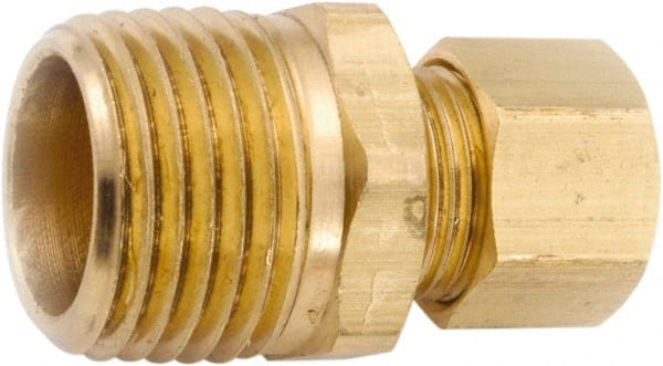 5//8 x 5//8 Compression Elbow Anderson Metals Brass Tube Fitting