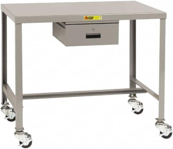 Little Giant Mobile Work Benches Type Machine Table Top Material 12