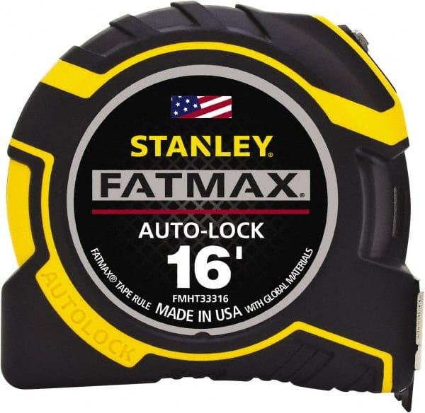 "Stanley 16/' Fatmax Tape Rule 1-1//4/"" Blade Width"