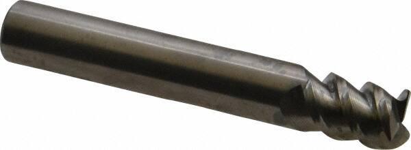 SGS 32200 59B 2 Flute Ball End Long Reach General Purpose End Mill 2-1//2 Length 1//4 Shank Diameter 3//8 Cutting Length 1//8 Cutting Diameter Aluminum Titanium Nitride Coating