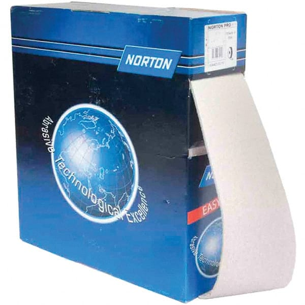 "Norton 600 Grit 1/"" Width 50 Yard Length Aluminum Oxide Shop Roll 1 EA"