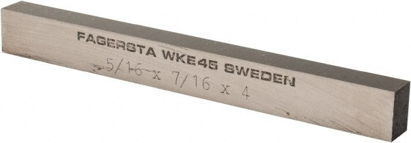 Cobalt Rectangular 5//16 x 7//16 x 3 inch Tool Bit