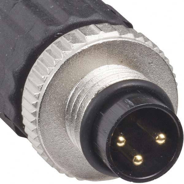 Sensor Connector M8 Male Female Screw Threaded Plug Coupling 3 4 Pin A typeFBNOO