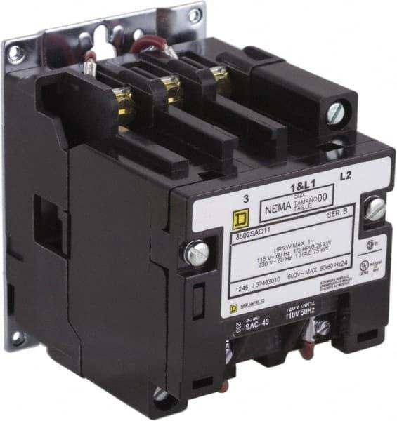 2 Pole, 220 Coil VAC at 50 Hz, 240 Coil VAC 56822810 - MSC