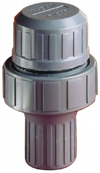 Vacuum Breaker,1 In.,FNPT,PVC,100 psi PLAST-O-MATIC VBM100V-PV
