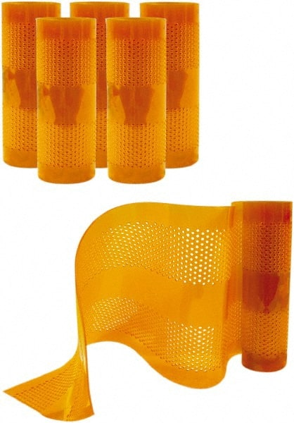 Low-Temp Scratch-Guard Ribbed Pack of 6 Aleco 179036 Clear-Flex II Vinyl PVC 12 x 0.216 x 12 Tearaway Replacement Strips