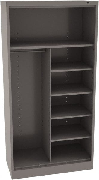 Remarkable Tennsco 18 Inch Storage Cabinet Mscdirect Com Interior Design Ideas Greaswefileorg