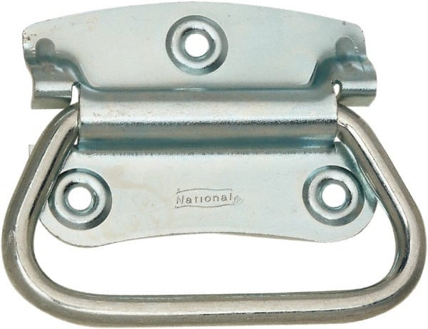 Steel Formed Grip Chest Handle with Return Springs Value Collection 5 Wide x 3.64 High Chrome Plated