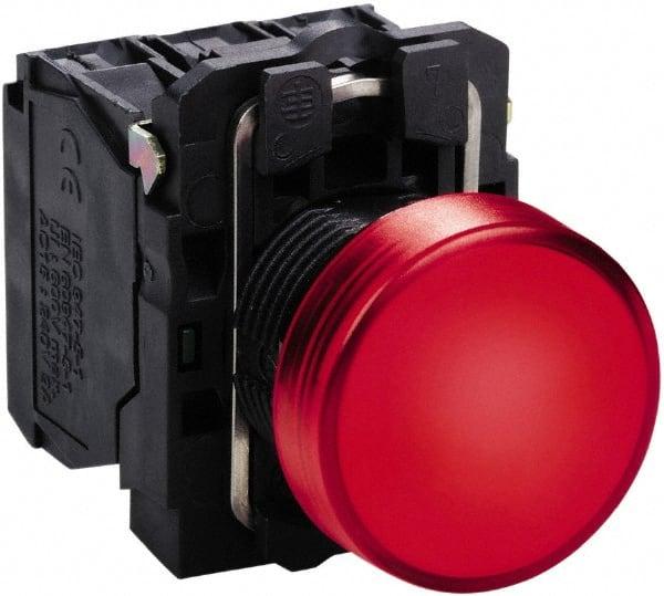 Schneider Electric 24 VAC VDC At 50 60 Hz Red LED Pilot Light