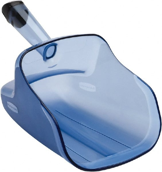 74 oz Blue Flat Bottom Scoop 57851321 - MSC