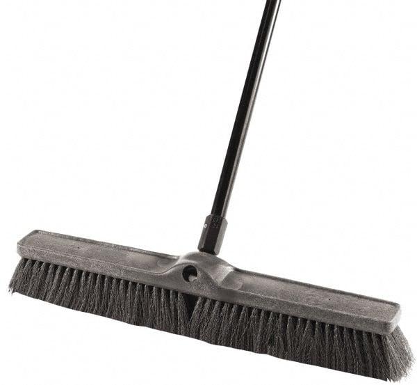 rubbermaid 3x24inches gry push broom - Push Broom