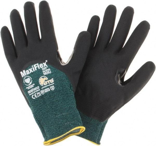 PIP 34-876 ATG MaxiFlex Ulitimate Fully Nitrile Coated Nylon Gloves 12 Pair LG for sale online