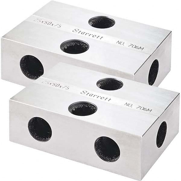 1-1//2 Size 4-7//8 Diameter Starrett 119 Alloy Steel Bench Block