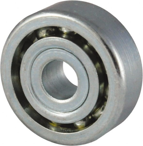 3//16 inch bore 4 Radial Ball Bearing Lowest Friction Bearing. FLANGED
