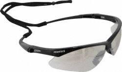 jackson safety io lens black frame nemesis safety glasses 25685