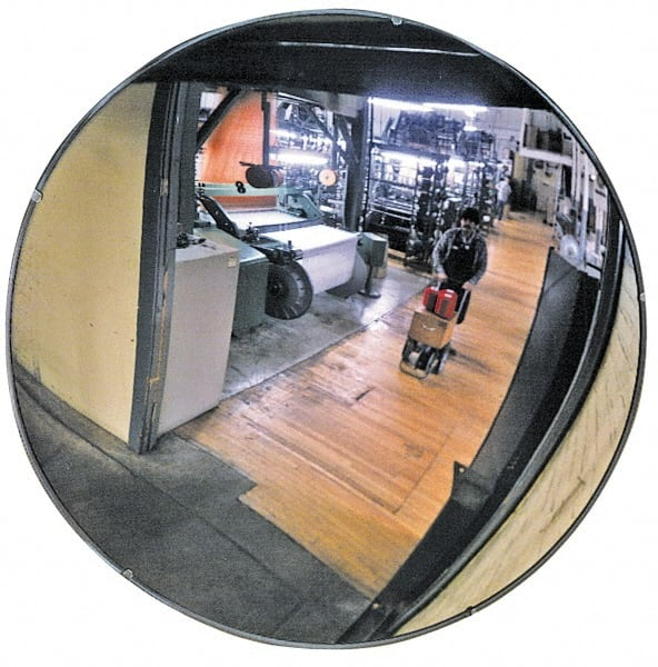 Pro Safe Acrylic Lens Indoor Round Convex Safety Traffic And Inspection Mirror