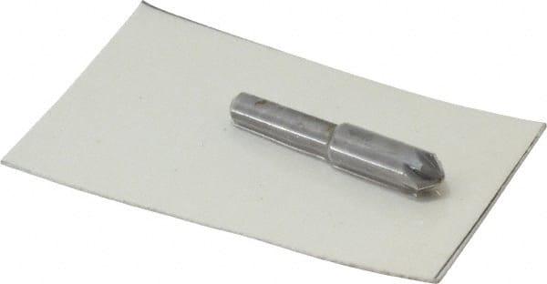"1//4 90° 6 Flute Solid Carbide Single End Countersink 1//4/"" Shank 2/"" OAL USA"