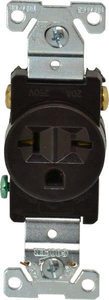 Pass /& Seymour 50 Amp 125//250 VAC 3-Pole 3-Wire NEMA 10-50R Straight Blade