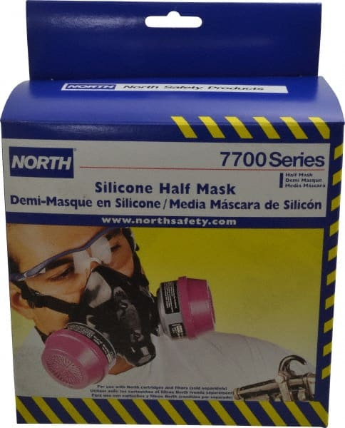 north 7700 series silicon half mask respirator