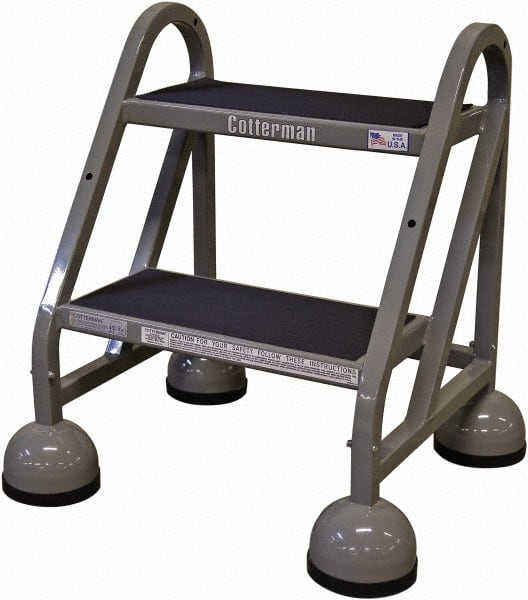 Cool Cotterman 2 Step Ladder Mscdirect Com Spiritservingveterans Wood Chair Design Ideas Spiritservingveteransorg