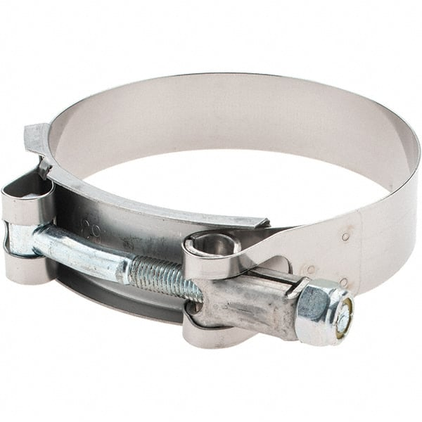 0.98 Wide x 0.04 Thick 4-1//2 Hose Mikalor 24 Pack T-Bolt Hose Clamp