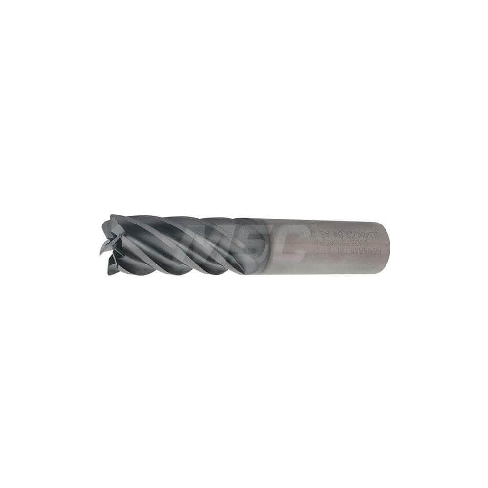 """1//4/"""" Diameter 4 Flute SE Carbide End Mill .060/"""" Corner Radius TiCN Coated"""