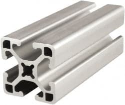 80 20 Inc 72 Inches Long X 1 1 2 Inches Wide X 1 1 2 Inches High T Slotted Aluminum Extrusion 61984886 Msc Industrial Supply