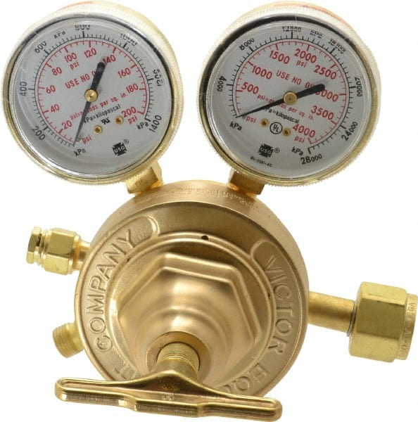 540 CGA Inlet Connection Welding Regulator Oxygen Male Fitting 125 PSI