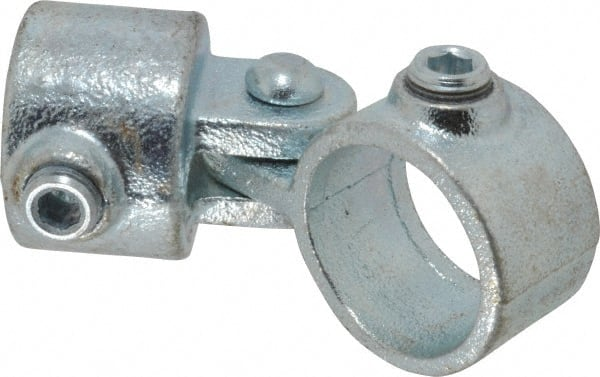Railing Flange PRO-SAFE Malleable Iron Pipe Rail Fitting 1-1//2 Inch Pipe 2 Pack