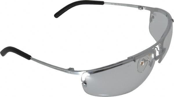 3m clear af lens slvr frm metaliks safety glasses