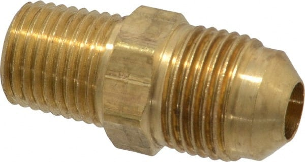 1//2 Flare Tube x 1//4 Male Thread 1//2 Flare Tube x 1//4 Male Thread Parker Hannifin Corporation Parker Hannifin 48F-8-4 Brass Male Connector 45 Degree Flare Fitting
